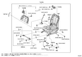 front seat seat track toyota part list jp carparts com select image size
