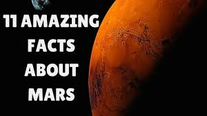 interesting facts about mars 11 amazing mars facts