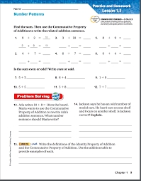 brown tanya go math chapter 1 homework u0026 practice pages