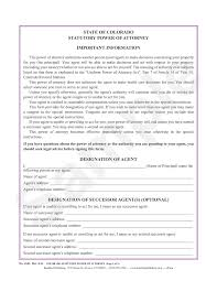 Army Power Of Attorney Form by Statutory Power Of Attorney U2013 Bradford Publishing