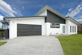 dulux lexicon exterior with monument colorbond house colour