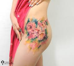 floral tattoos u2013 the beautiful creations of korean artist aro