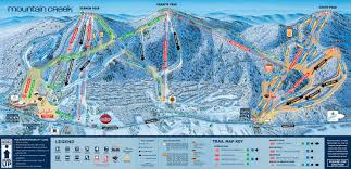 Mt Snow Trail Map Trail Map Mountain Creek U2013 Vernon