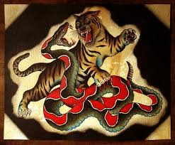amazing tiger and snake meaning for and