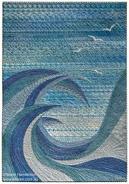 theme quilts best 25 fiber quilts ideas on landscape quilts