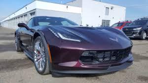 rose gold corvette 2017 z06 corvette 1lz black rose metallic youtube