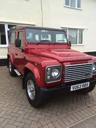 land rover defender 2013 red land rover defender 90 used land rover cars buy and sell in