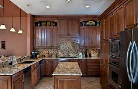 Old World Kitchen Designs by Traditional Kitchen Design With Modern Space Saving Design