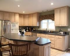 Houzz Painted Cabinets Pickled Oak Cabinets Houzz Kitchen Remodel Pinterest Houzz
