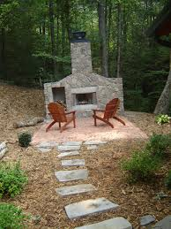amazing outdoor wood fireplace designs on a budget top at outdoor