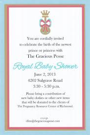 you are invited to celebrate the gracious posse you are cordially invited to a royal baby