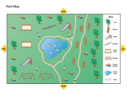 printable map key park map national geographic society