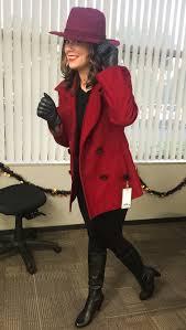 Red Coat Halloween Costume Carmen Sandiego Halloween Costume Carmensandiego Halloween
