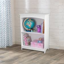 kidkraft nantucket 2 shelf bookcase white walmart com