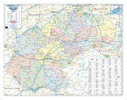 free map free state provincial wall map mapstudio