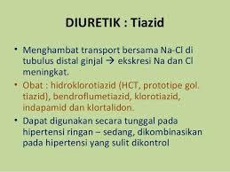 Obat Hct obat obatan sistem organ