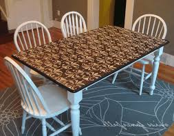 Dining Table Modern Round Stencilling Furniture Luxurious Grey Upholstered Dining