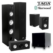 home theater speaker system 5 1 home theatre speaker system taga 406 speakers u0026 sherwood