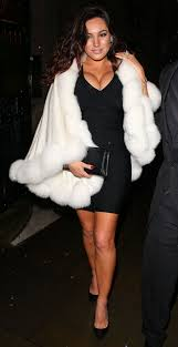 brook going to a christmas 2014 party in london