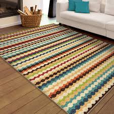 Outdoor Rugs Only by Orian Rugs Indoor Outdoor Nik Nak Multi Colored Area Rug Or Runner