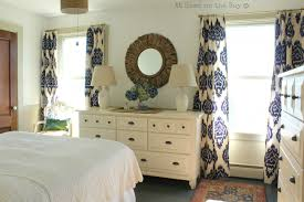 Bedroom Curtains Blue Great Blue Ikat Curtains And Bhg Style Spotters Scalisi Architects