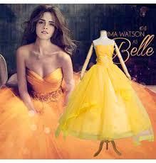 2017 movie beauty beast princess belle dress cosplay costume