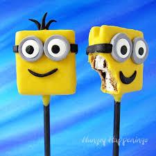 u0027mores minion lollipops despicable party