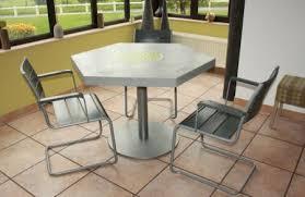 table de cuisine pied central tables cuisine et salle à manger création meubles mortex