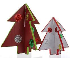 cardboard christmas tree craft tutorial youtube