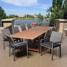 teak patio dining table teak patio dining furniture patio furniture the home depot