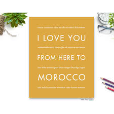 Pennsylvania travel gift ideas images Morocco travel art print gift idea hopskipjumppaper jpg