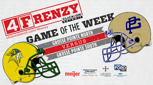 spirit halloween roseville michigan 4frenzy game of the week grosse pointe turns out for north vs