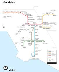 Train Map Of America by Large Detailed Subway System Map Of Los Angeles City Los Angeles