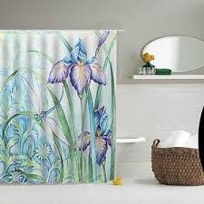 Croscill Iris Shower Curtain Floral Shower Curtains Polyvore