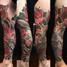 japanese leg sleeve by george bardadim