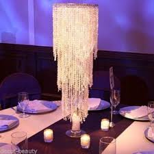 Wedding Centerpiece Stands by Centerpiece Table Top Chandelier Wedding Centerpieces Wedding