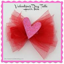 tulle hair bows how to make a beautiful tulle hair bow s day gift ideas