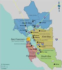 Map Usa San Francisco by San Francisco Bay Area Thermador Care