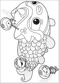 coloring pages octonauts printable kids u0026 adults free