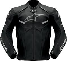 padded leather motorcycle jacket alpinestars celer leather motorcycle jacket black
