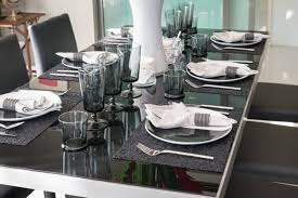modern table settings dining room table settings 27 modern dining table setting ideas best