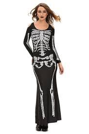 skeleton costume womens roswear women s dress sleeves