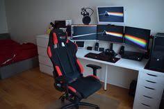l shaped desk gaming setup white gaming computer desk setup battle station corner l shaped desk