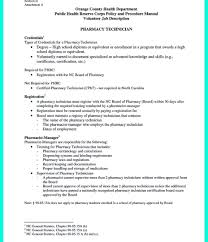 pharmacy technician resume pharmacy technician resume exles sle for template free