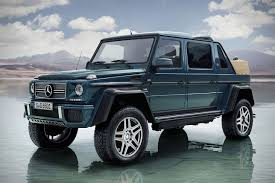 wrapped g wagon 2017 mercedes maybach g 650 landaulet hiconsumption