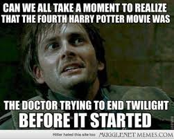 Doctor Who Memes Funny - also take a moment and realize how the fourth harry potter movie