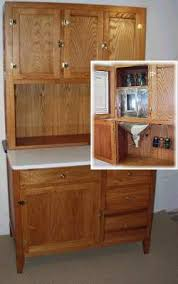Hoosier Cabinet Parts Furniture Hoosier Cabinet Old House Web