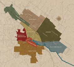 Petaluma Ca Map Petaluma Neighborhoods Map Find The Neighborhood For You