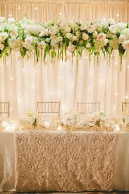 Hanging Chandelier Over Table by 86 Best Hanging Wedding Decorations Images On Pinterest Marriage
