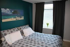 Accent Walls In Bedroom by Turquoise Accent Wall Home Design Ideas